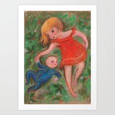 Matisse and Roman Art Print