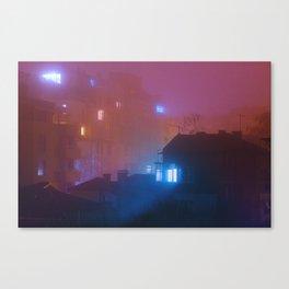 Pink Utopia Canvas Print