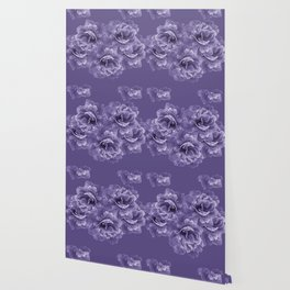 Ultra Violet Peony Flower Bouquet #1 #floral #decor #art #society6 Wallpaper