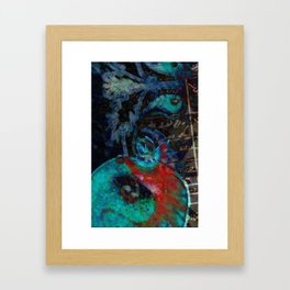 Armenian movies/pomegranate/texture Framed Art Print