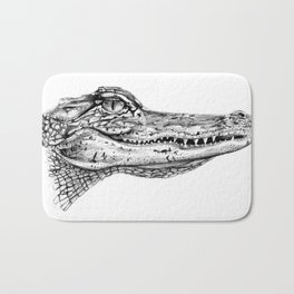 Alligator  Bath Mat