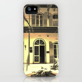 Hemingway House Vintage iPhone Case
