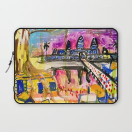 Angkor Wat and Ta Prohm in Cambodia Laptop Sleeve