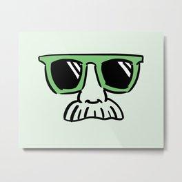 Too Cool (yellow green) Metal Print