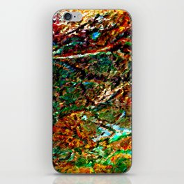 Emerald Impressions Abstract iPhone Skin