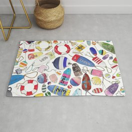 Buoy Collection Rug