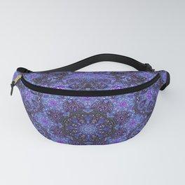 Blue and Purple Kaleidoscope 2 Fanny Pack