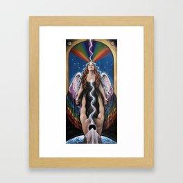 Love Ascending Framed Art Print