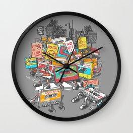 Digital Ruins Our Life Wall Clock