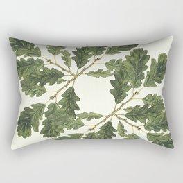 Oak ensemble (Cream  ground) Rectangular Pillow
