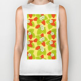 Strawberries Biker Tank