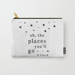 Oh the places you'll go - Dr Seuss Carry-All Pouch