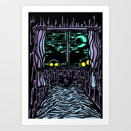 Night Night Art Print