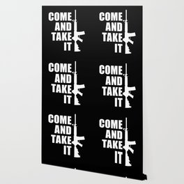 Come and Take it with AR-15 inverse Wallpaper