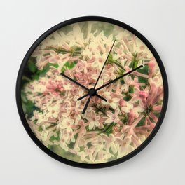 Spring Lilac A425 Wall Clock
