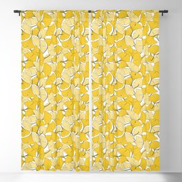 ginkgo leaves (yellow) Blackout Curtain