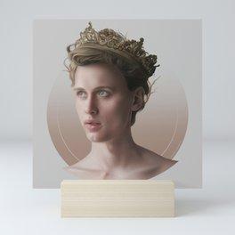 KING OF MY HEART Mini Art Print