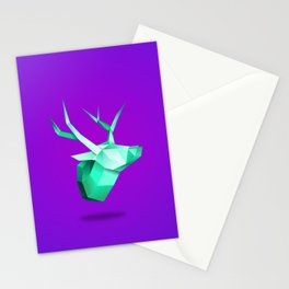 Origami Deer Stationery Cards