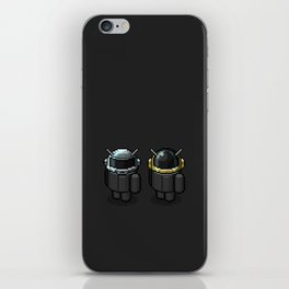 Daft Droid iPhone Skin