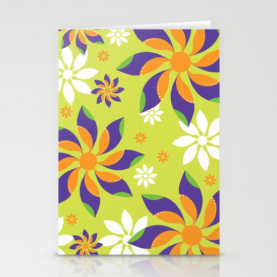 Flowerswirl Stationery Cards