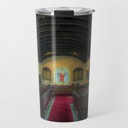 Olde Lamp Church Travel Mug