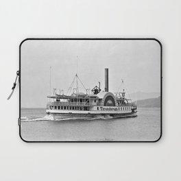Ticonderoga Side Wheeler Steamboat Laptop Sleeve