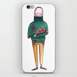 A Thumb in a Turtleneck iPhone Skin