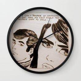 Pop-Art Comic 1 Wall Clock