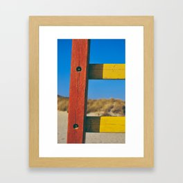 Colours: Summer Framed Art Print