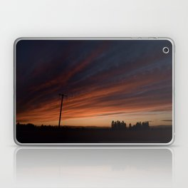 Sunset on Greenbluff Laptop & iPad Skin