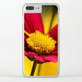 Summerflower 0167 Clear iPhone Case