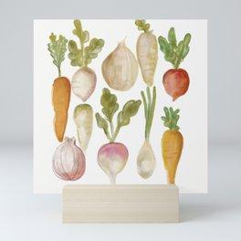 Veggie Garden Mini Art Print