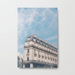 The Beautiful Buildings of Paris  Metal Print