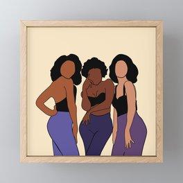 Jade. 90's R&B group. Poster. Print Framed Mini Art Print