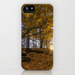 Golden Manito iPhone Case