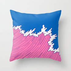Sea Swell Throw Pillow