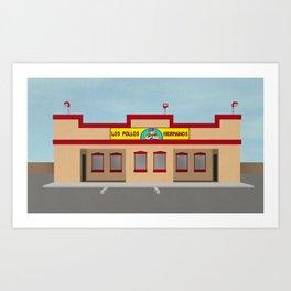 LOS POLLOS Art Print