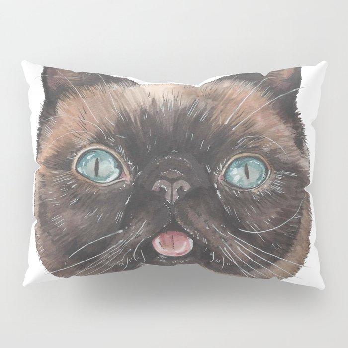 Der the Cat - artist Ellie Hoult Pillow Sham