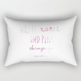 Pink Champaign Rectangular Pillow