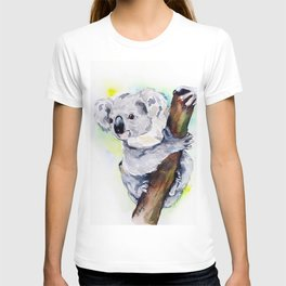 Koala watercolor by Anne Gorywine T-shirt