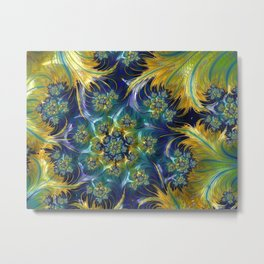 Waves of Sunshine Metal Print