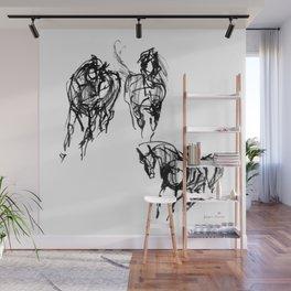 Horses (Trio) Wall Mural