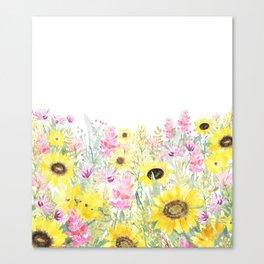 Summer Garden (Sunflower Passion) Canvas Print