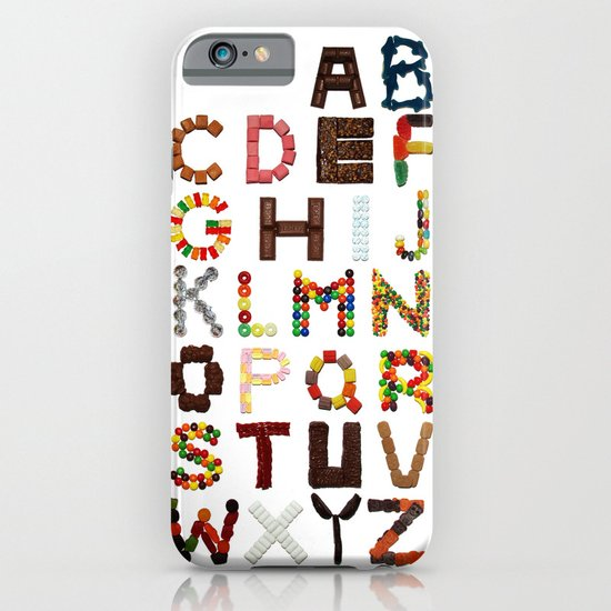 Candy Alphabet iPhone & iPod Case