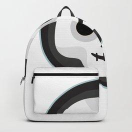skull smiley Backpack