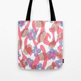 Ikat Fleur Tote Bag
