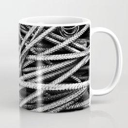Rebar And Spring - Industrial Abstract Coffee Mug