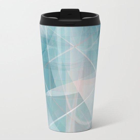 Pattern 2017 026 Metal Travel Mug