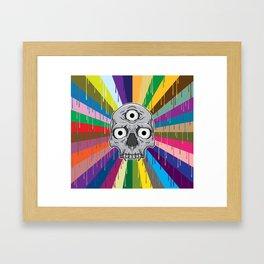 3 Eyed Jackass Framed Art Print