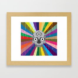 3 Eyed Jackass Framed Art Print